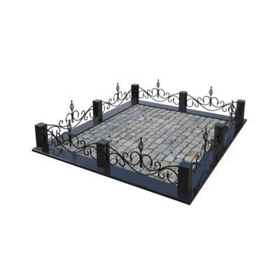 Кованая ограда 12