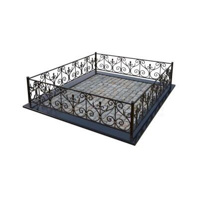 Кованая ограда 16