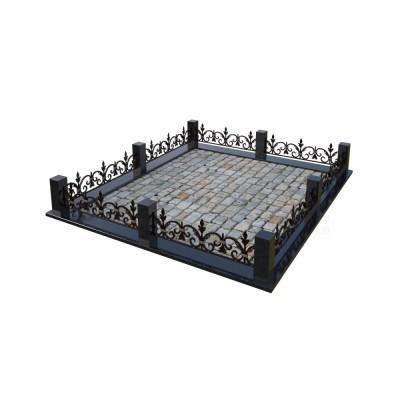Кованая ограда 3
