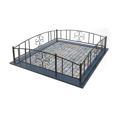 Металлическая ограда 11