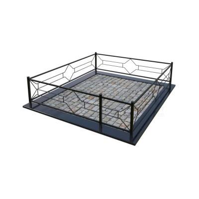 Металлическая ограда 16