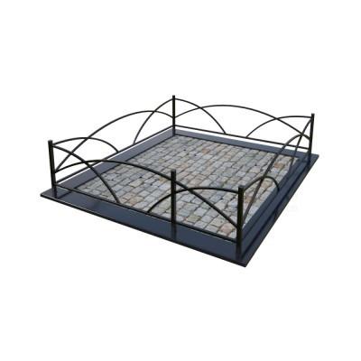 Металлическая ограда 20
