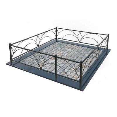 Металлическая ограда 21