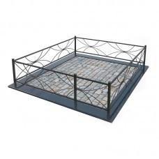 Металлическая ограда 23