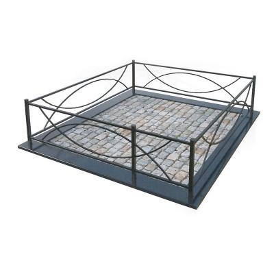 Металлическая ограда 24