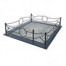 Металлическая ограда 25