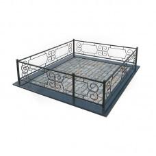 Металлическая ограда 5