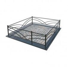 Металлическая ограда 8