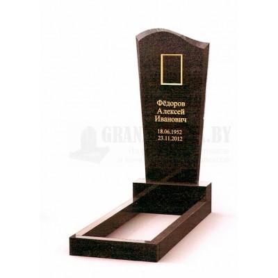 Памятник из Карельского гранита ПМ-2