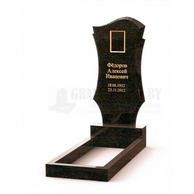 Памятник из Карельского гранита ПМ-24
