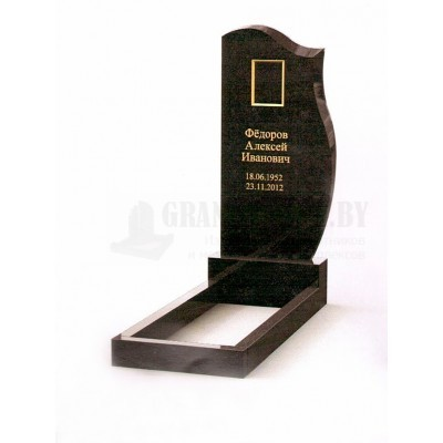 Памятник из Карельского гранита ПМ-6