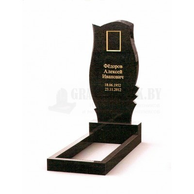 Памятник из Карельского гранита ПМ-26