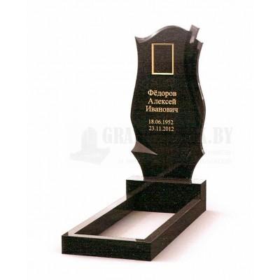 Памятник из Карельского гранита ПМ-12