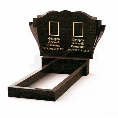 Памятник двойной из Карельского гранита ПМ-21
